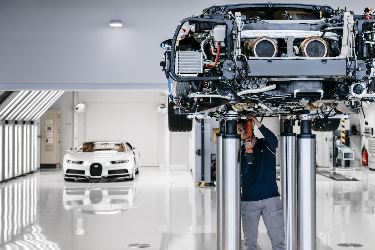This is How the Bugatti Chiron is Born…