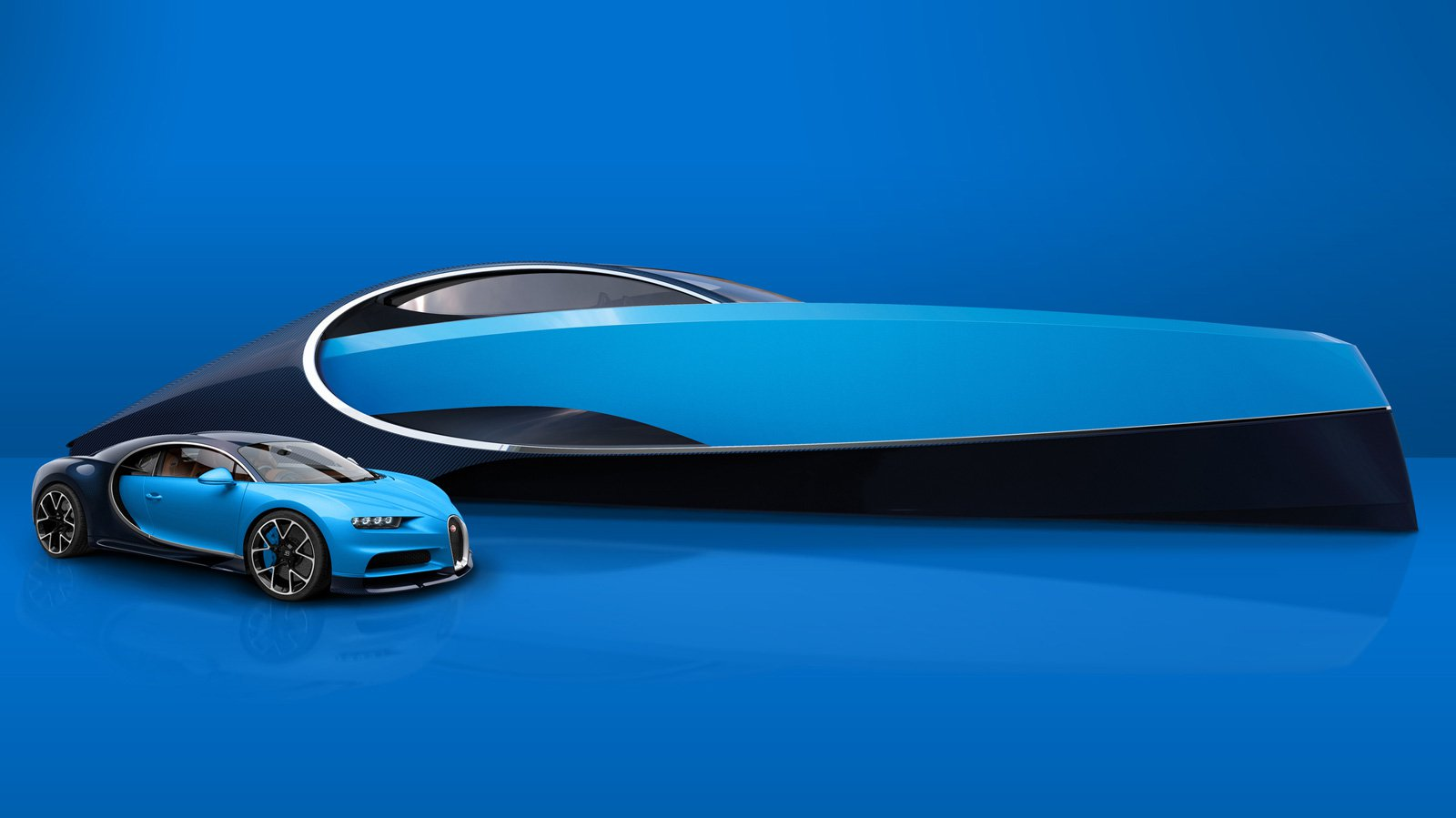 Match Your Bugatti and Your Boat