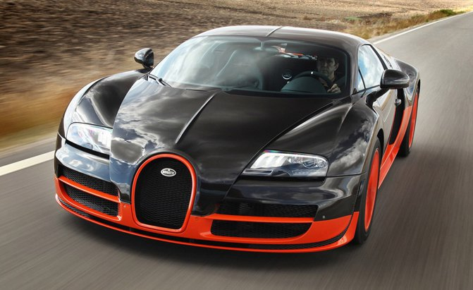 The Bugatti Veyron Was Just Recalled for Three Separate Issues