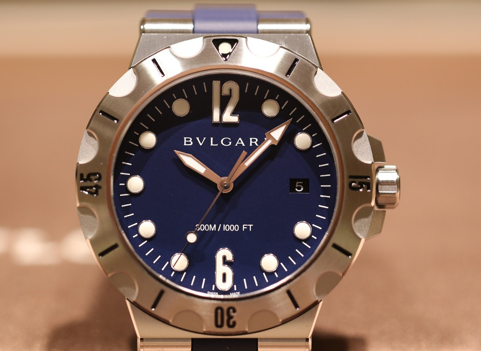 Dive Deep With the 2016 Bulgari Diagono Scuba