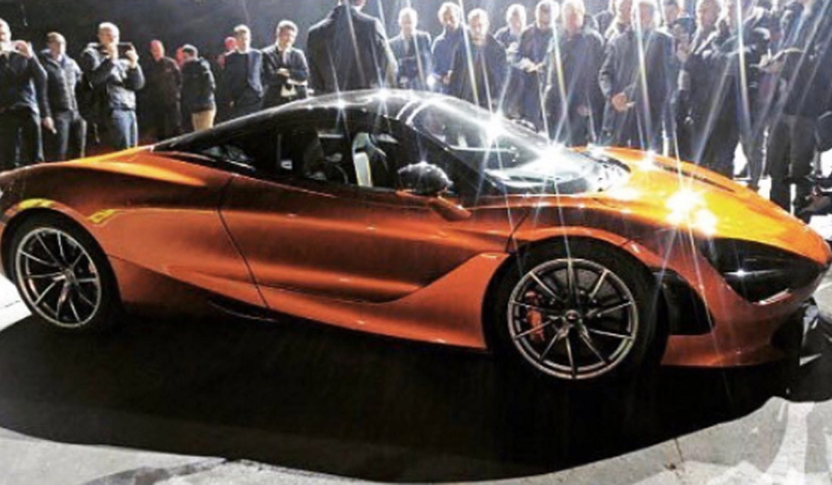 Leaked Photo of McLaren's Next Supercar Shows Super Sex Appeal