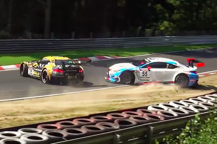Watch Almost Every Epic Nürburging Crash of 2015 So Far