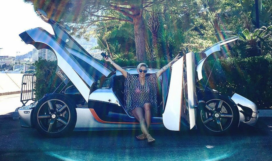 This Racing Driver Just Got Her Hands Rare Koenigsegg One:1
