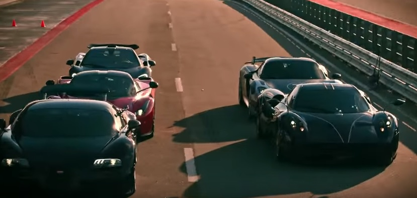 What Happens When The World S Top Hypercars Get Invited To Race