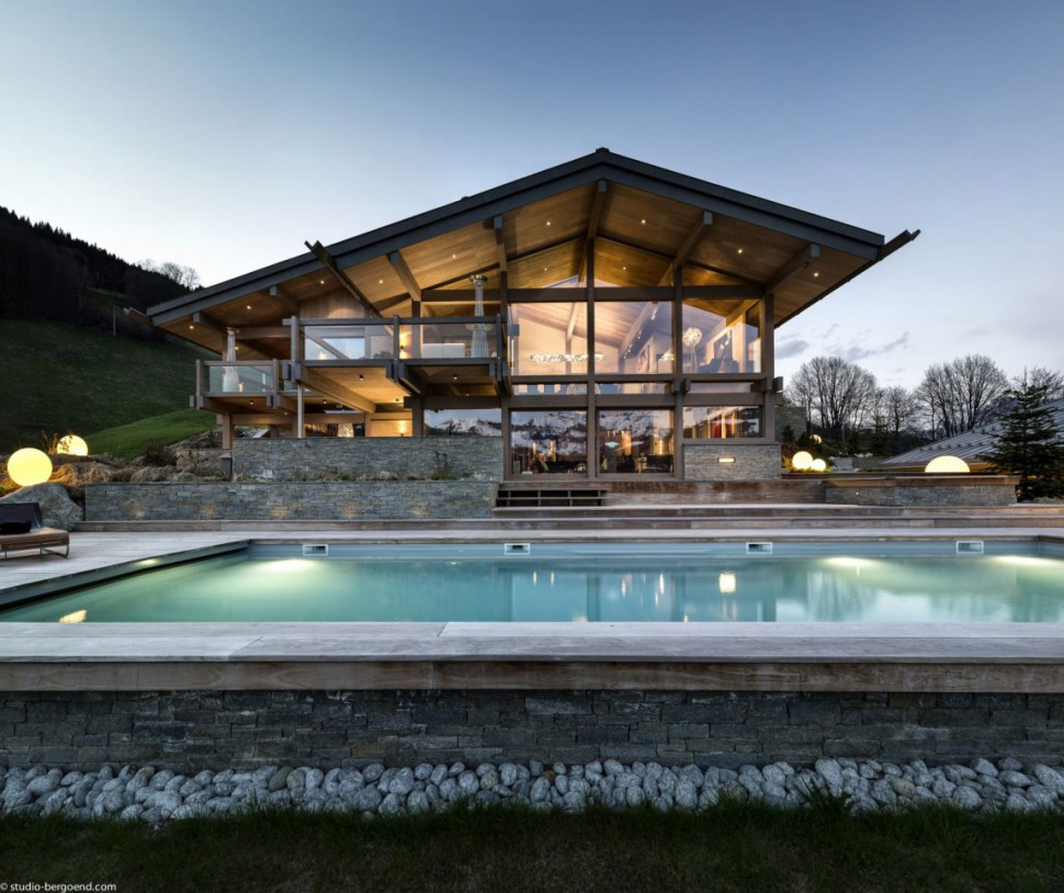 Could This Ski Chalet in the French Alps Be The Most Luxurious Ever?