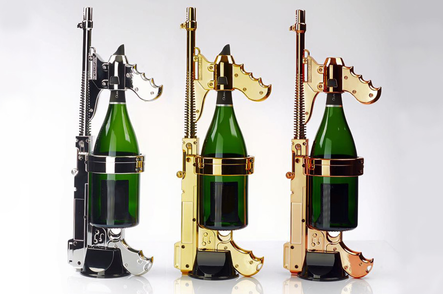 Stop Everything! Here's a Champagne Machine Gun