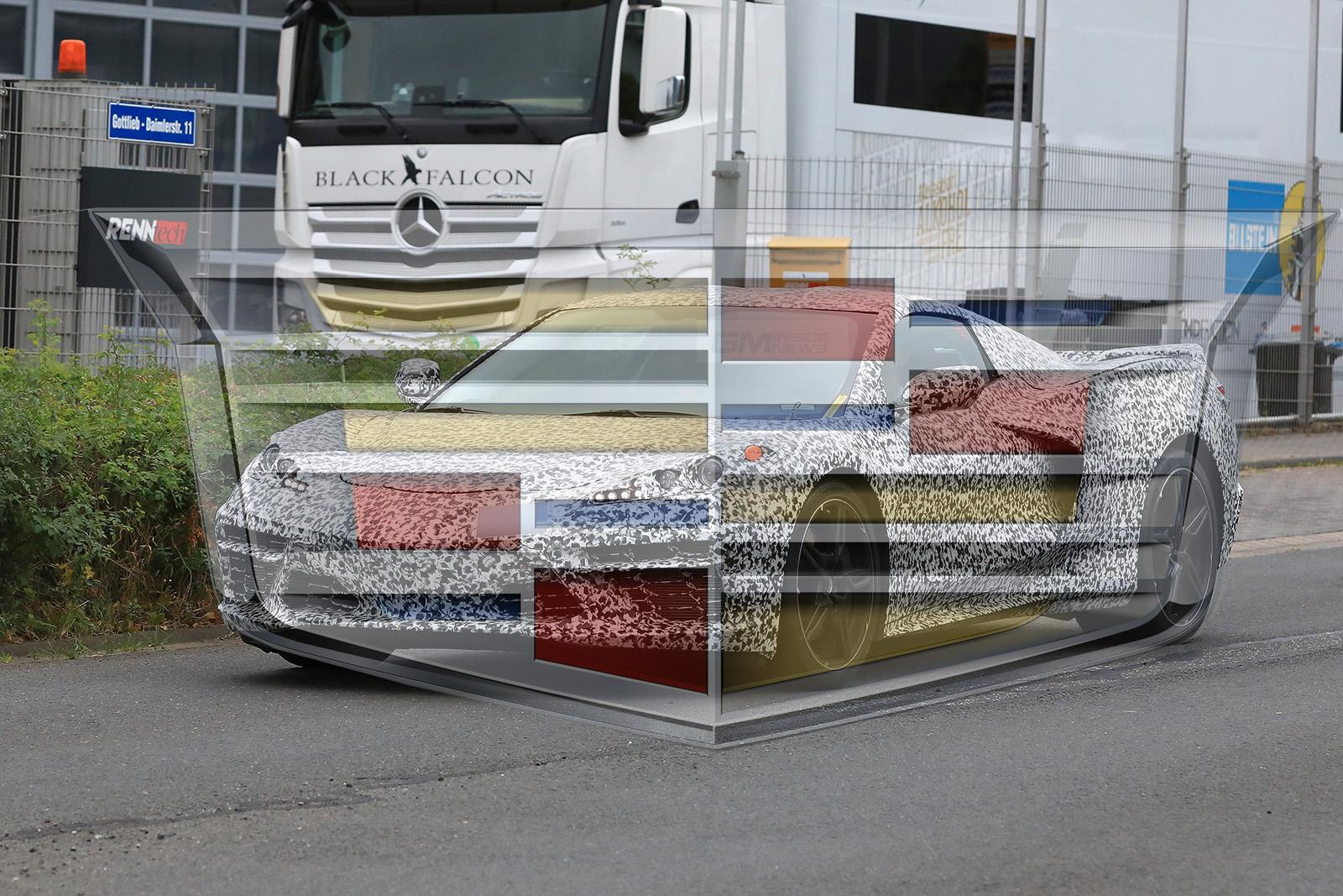 Mystery Key Hints at Mid-Engine Cadillac Convertible