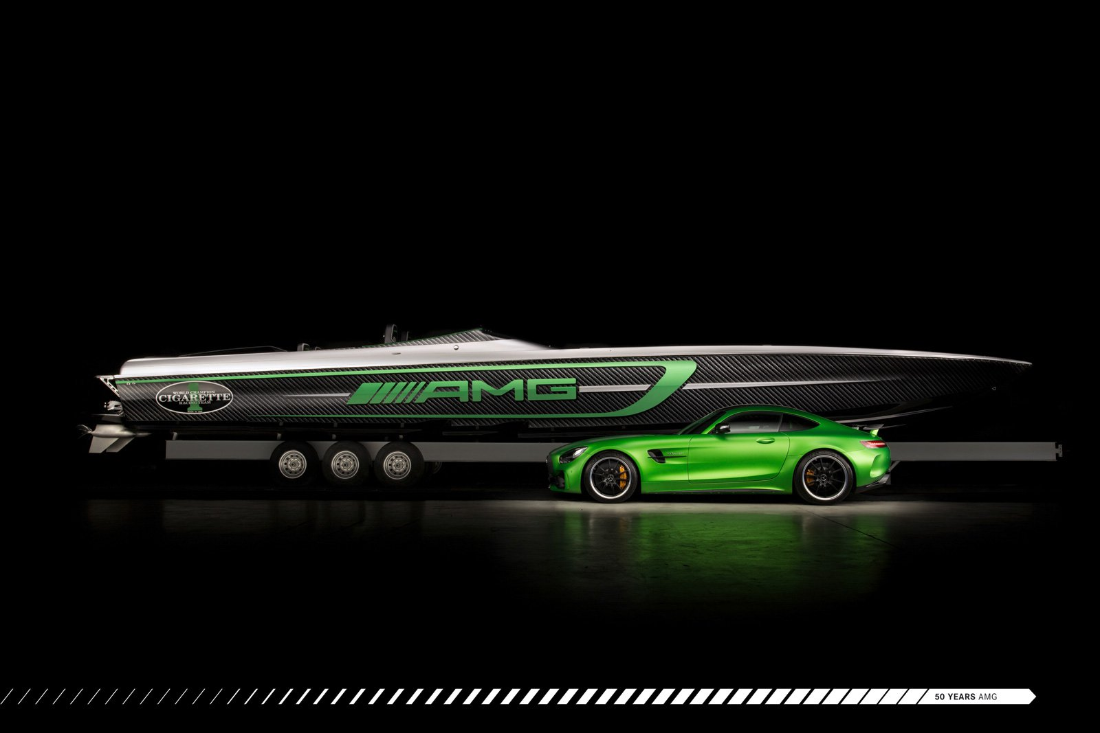 Smoking With Cigarettes: Latest Mercedes-AMG Boat is a High Performance Homage