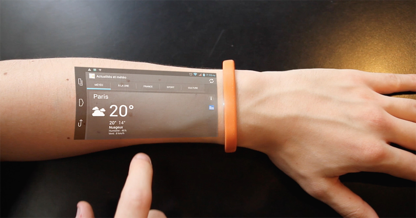 Put a Tablet on Your Arm With This Amazing Piece of Wearable Technology