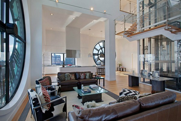 This Clock Tower Penthouse is Brooklyn's Most Enchanting Residence