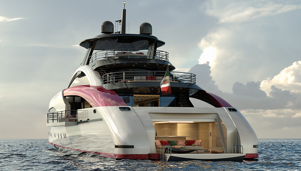 This Fast and Sexy Superyacht Will Put on the Best Party in Ocean History