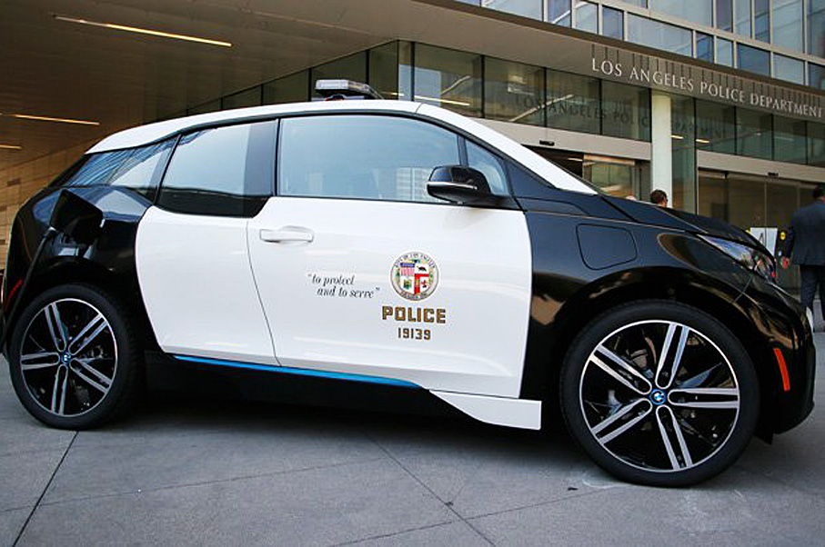The LAPD Just Added These Electric Cars To Its Fleet—Not Tesla Model S