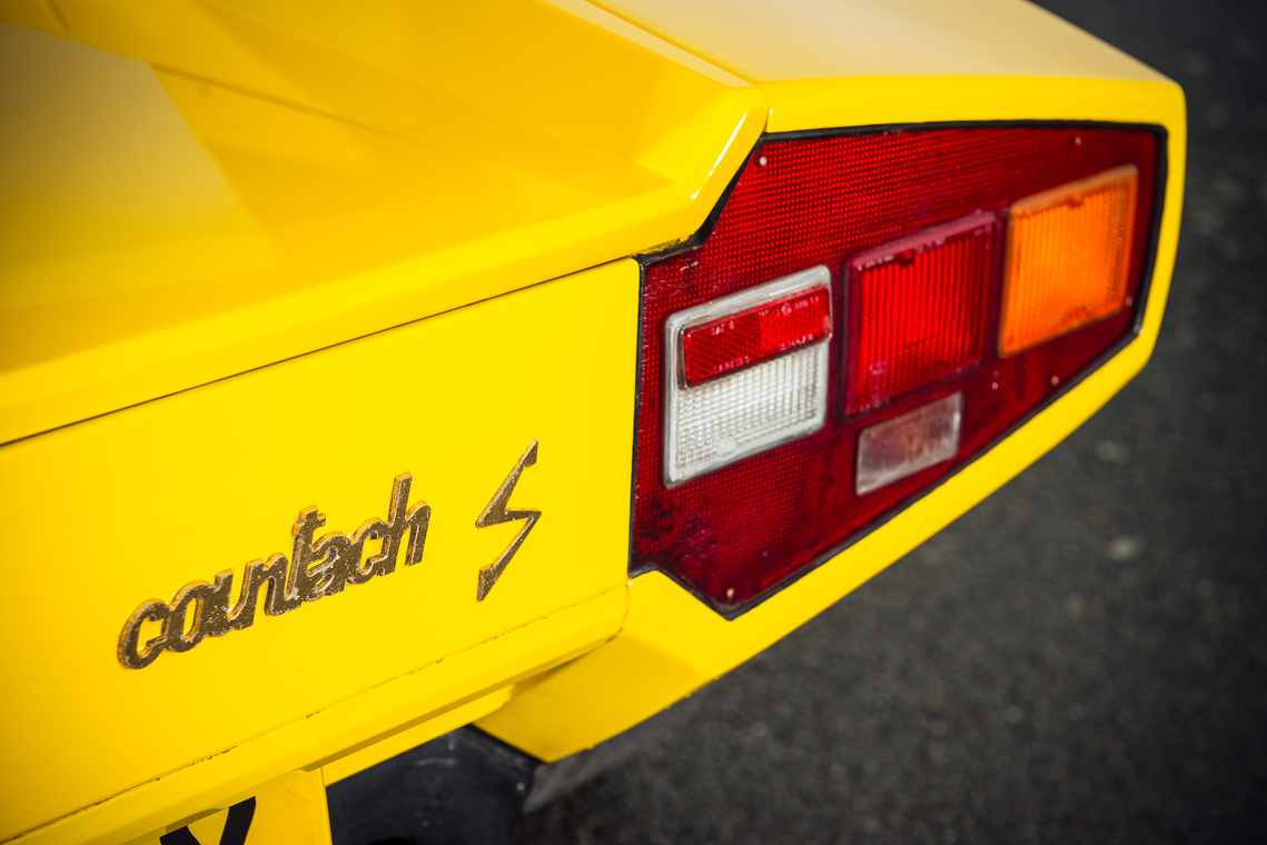 Here's Your Chance to Own an Awesome Yellow Lamborghini Countach LP400 S