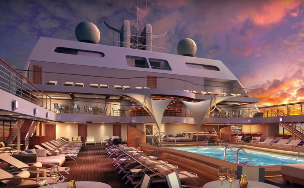 This New Cruise Ship is Taking Luxury to the Next Level