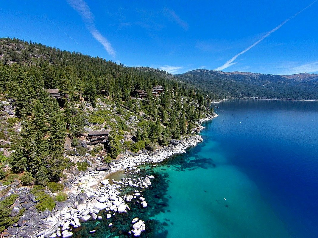 Howard Hughes' Luxurious $20-Million Lake Tahoe Cabin Is For Sale
