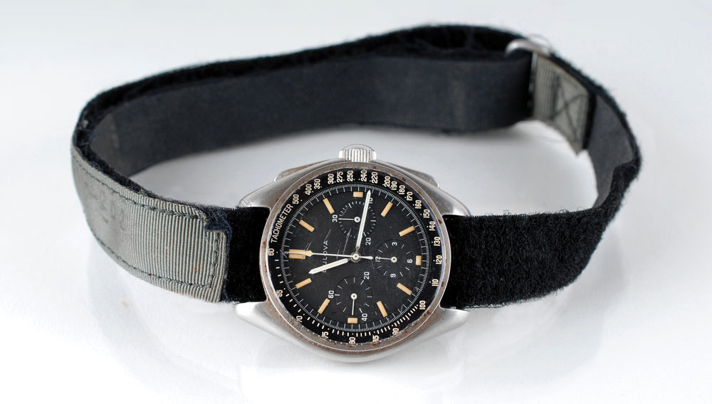 Here's The Watch Worn on the Moon That Just Sold For $1.6 Million