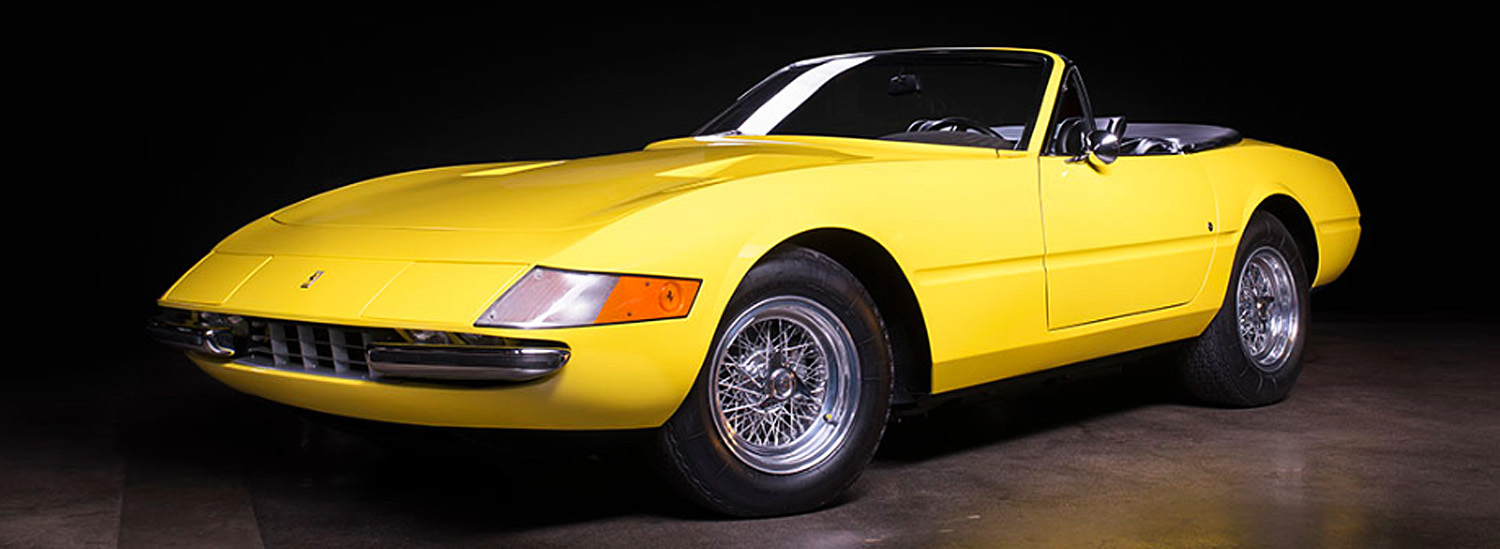 Here's Your Chance to Own A 1973 Ferrari 365 GTS/4 Daytona Spider