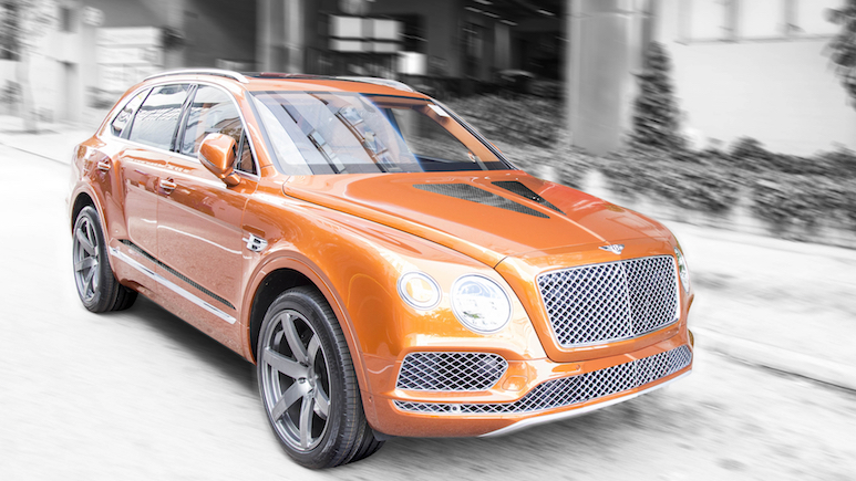 DMC Injects The Bentley Bentayga With An Extra 100 Horsepower