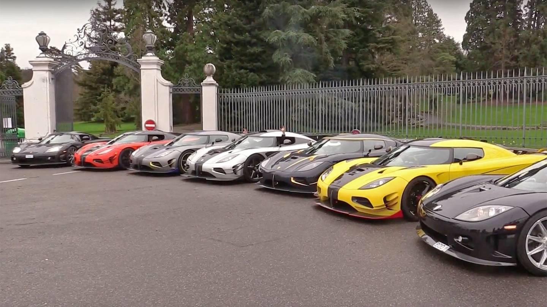 Watch 7 Koenigseggs Spit Fire Just Because Luxury4play Com