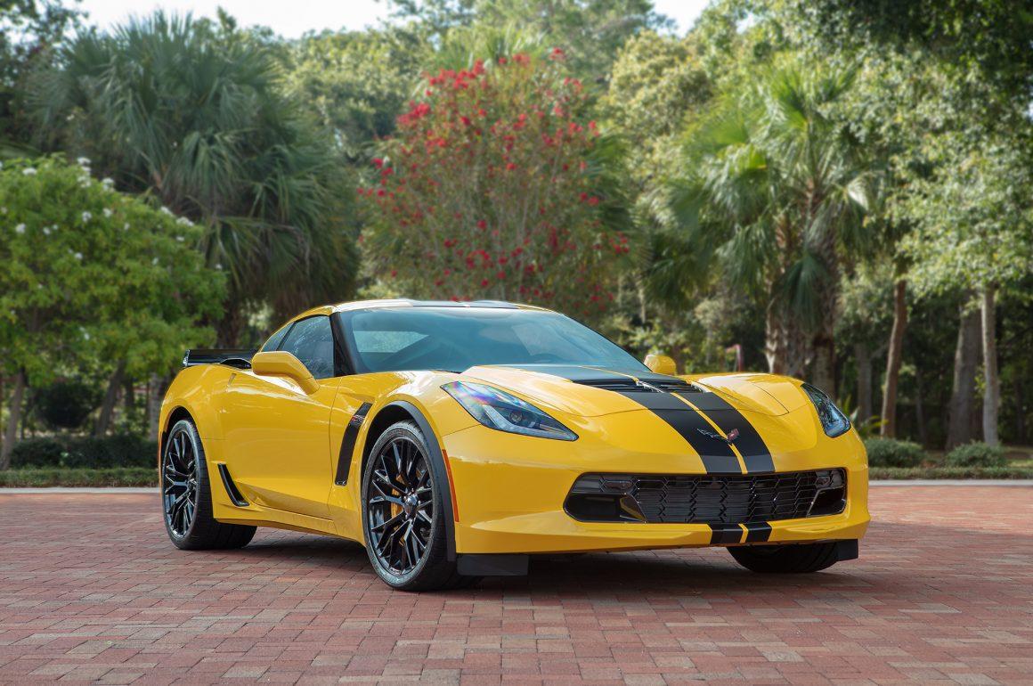 Rental Hertz Corvette Z06 Celebrates Company's 100th Anniversary
