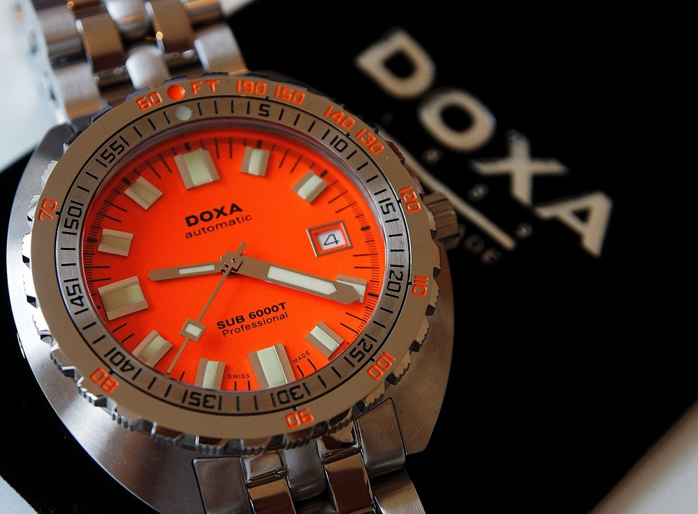Doxa Releases Sub 6000T Diver—And It Goes to 6,000 Feet Deep