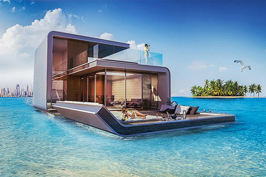 Dubai is Building an Exclusive Island Resort—And You Won't Believe the Stunning Underwater Suites