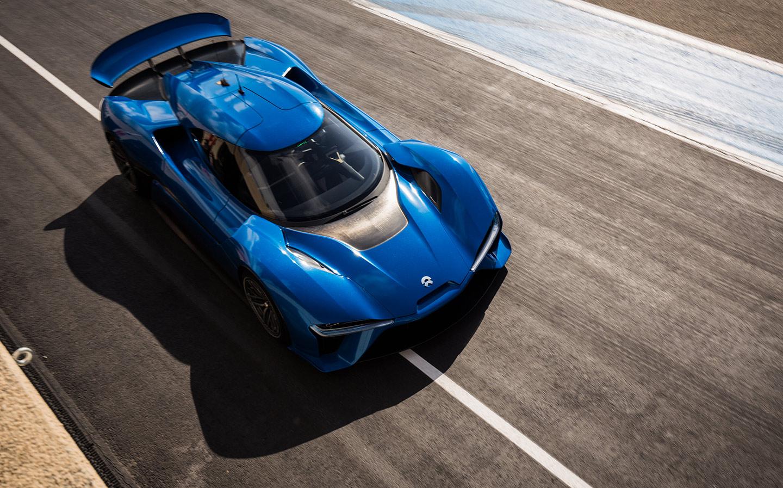 Chinese Car Kicks Tesla in the Crotch: NIO EP9