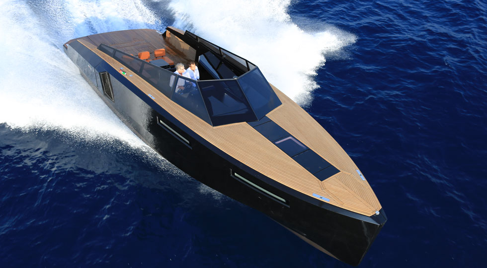 This Genius Yacht Transforms From Go Time to Party Time at the Push of a Button