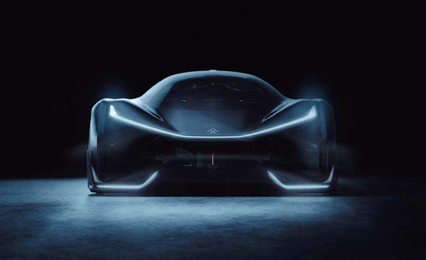 Faraday Future's 1,000-HP Electric Concept Supercar Is Video Game Crazy