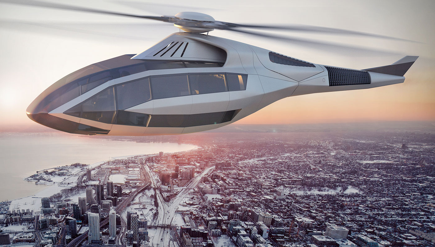 The Prettiest Helicopter Money Can Buy