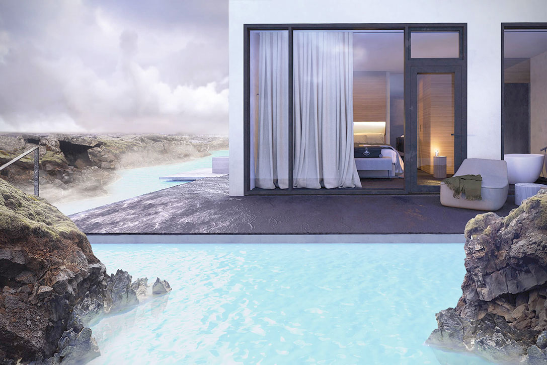 New Hotel Opens in Iceland's Blue Lagoon, Literally