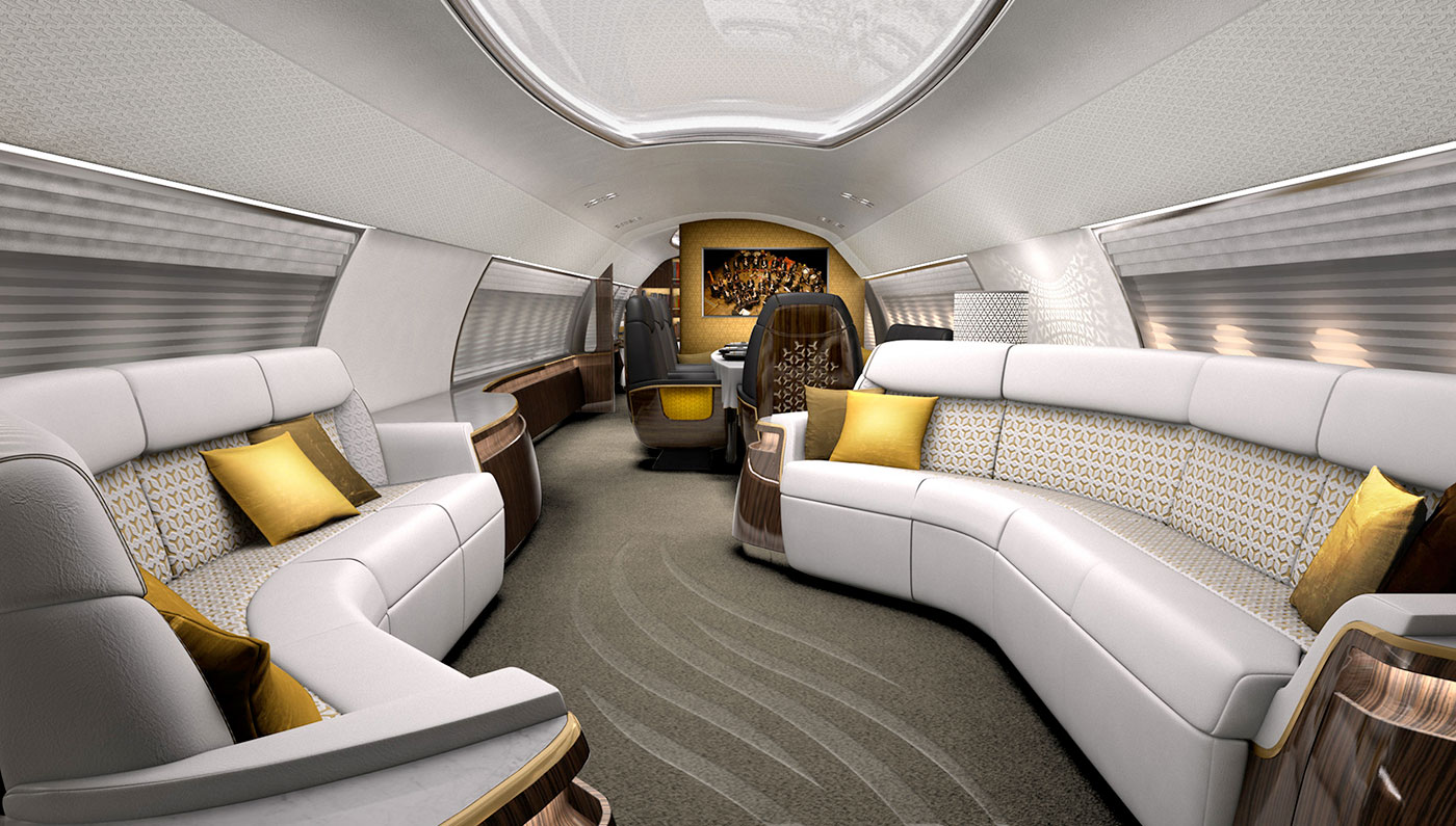 This Plane Has Been Converted Into A Millionaire's Dream
