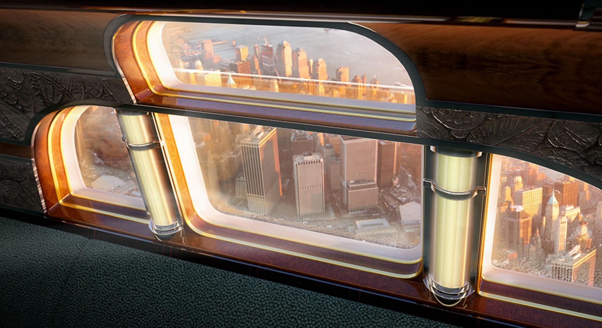 This Airplane Is Every Art Deco Aficionado's Dream