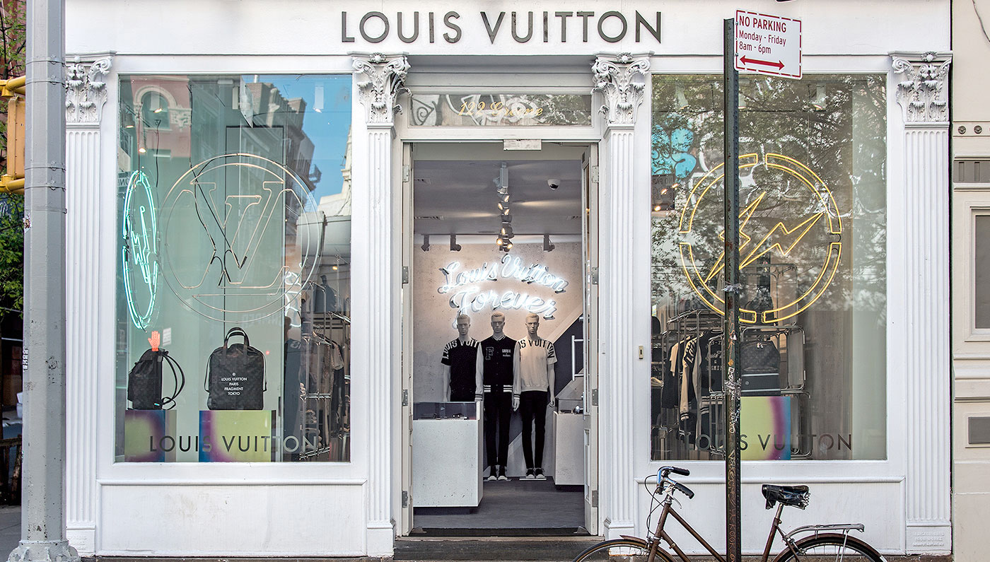 Louis Vuitton's New Collection Pops Up in NYC