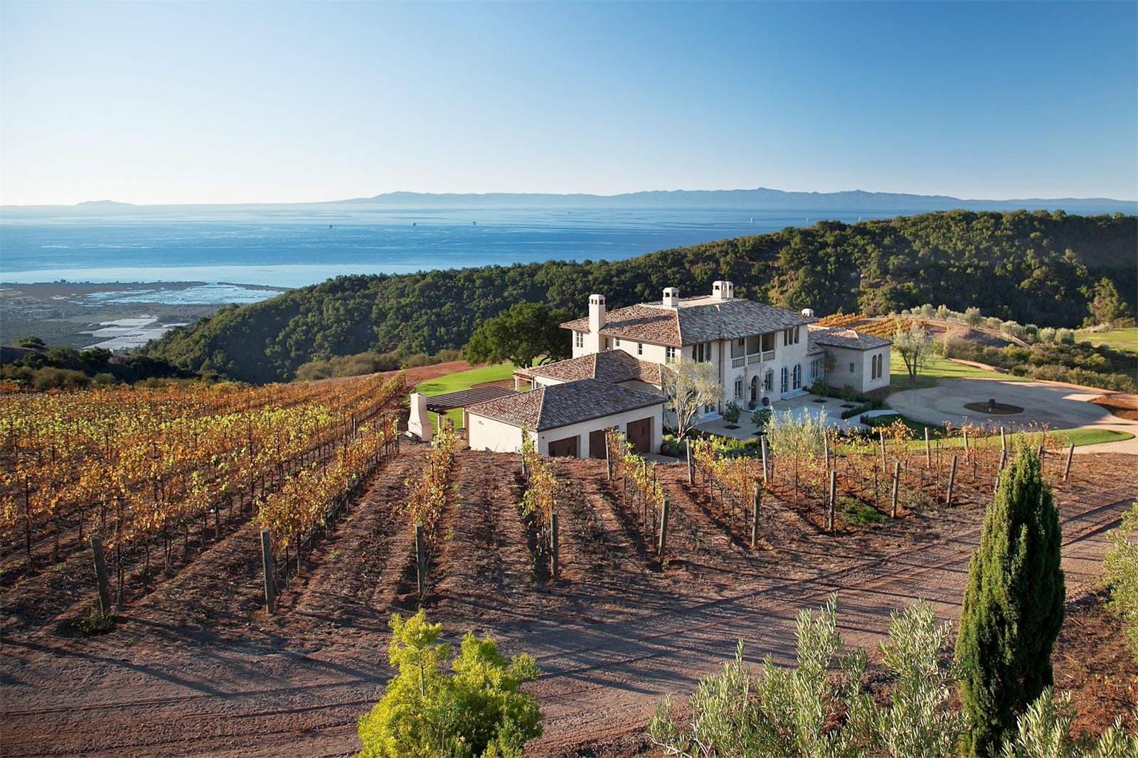 This Villa Comes With Its Own Private Vineyard