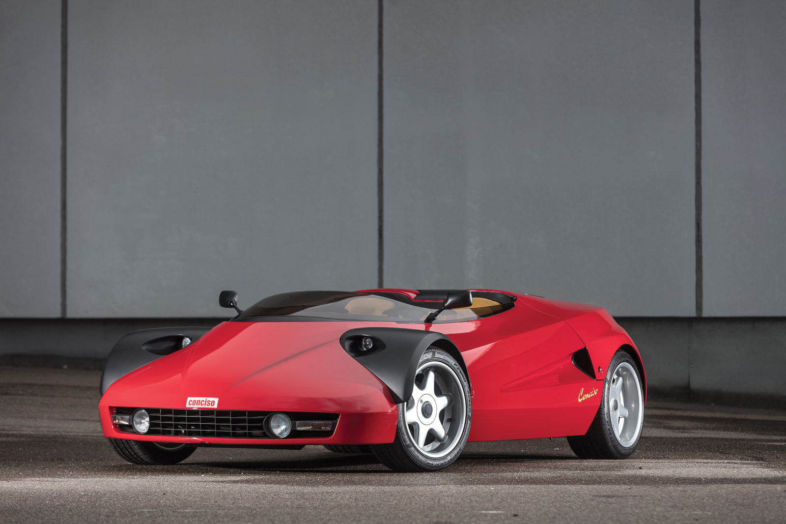 Behold, the Wonderful and Terrible Ferrari 328 Conciso by Michalak