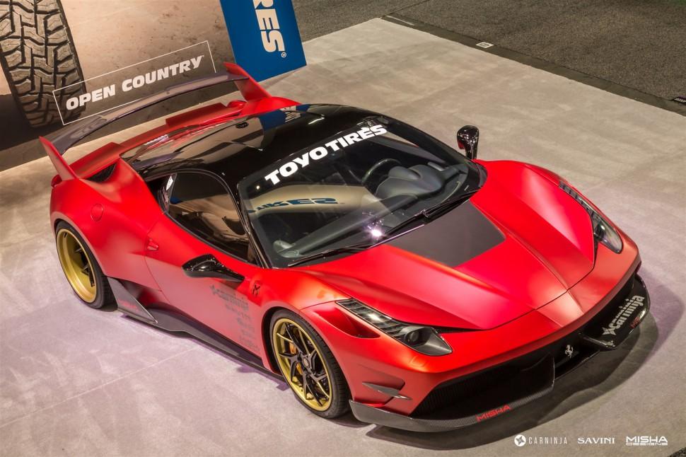 Ferrari-458-wide-body-kit-Misha-Designs-1