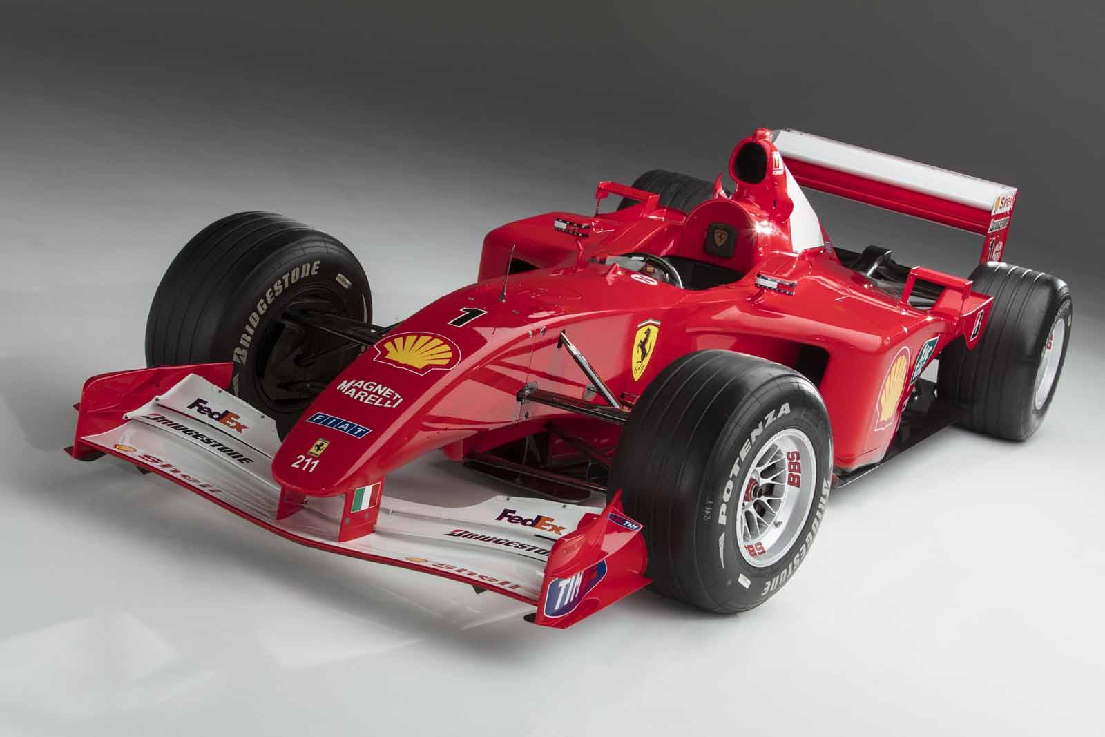 Michael Schumacher's Ferrari F2001 to Fetch Over $4M at Auction