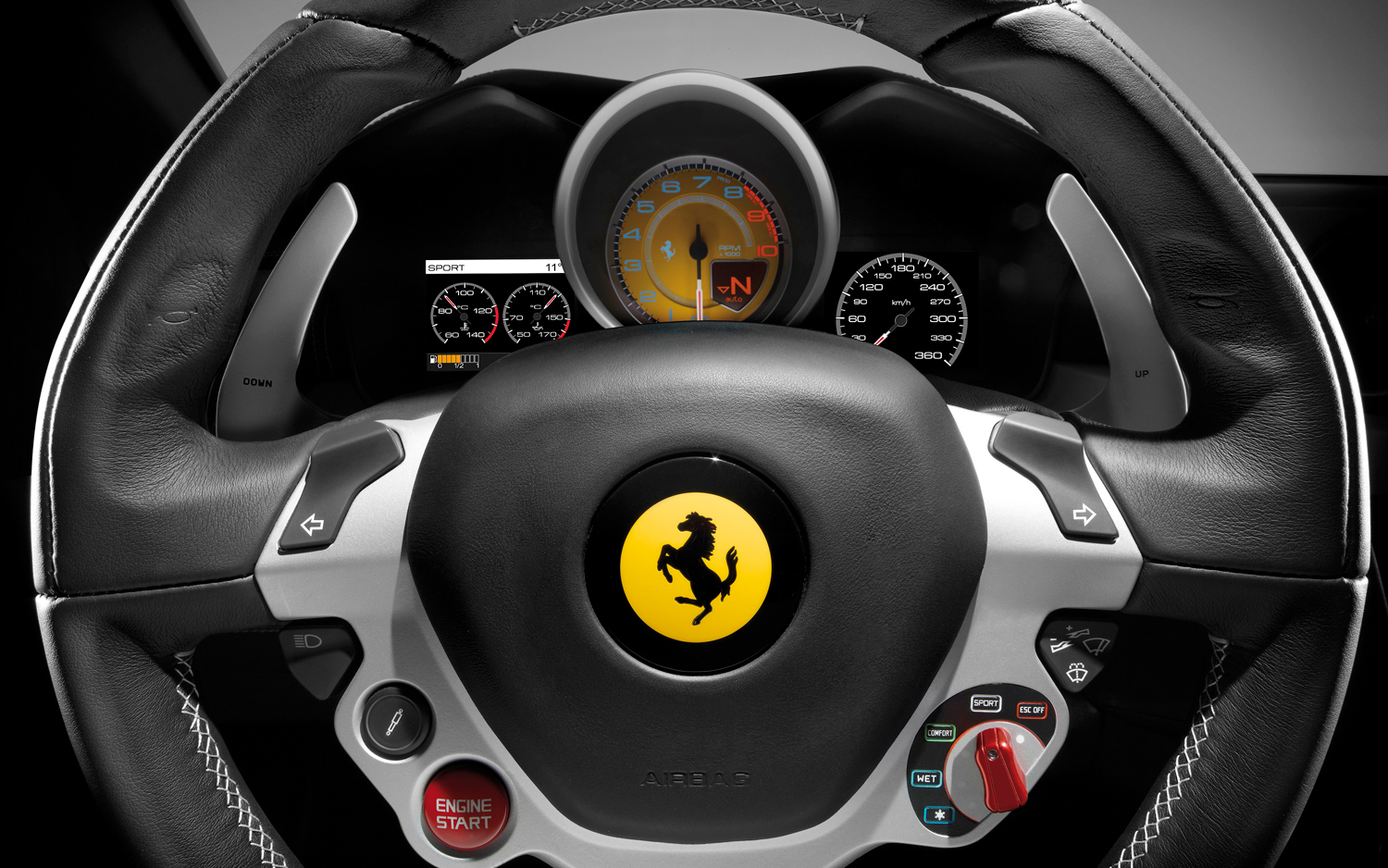 12 photos that will make you fall in love with ferrari
