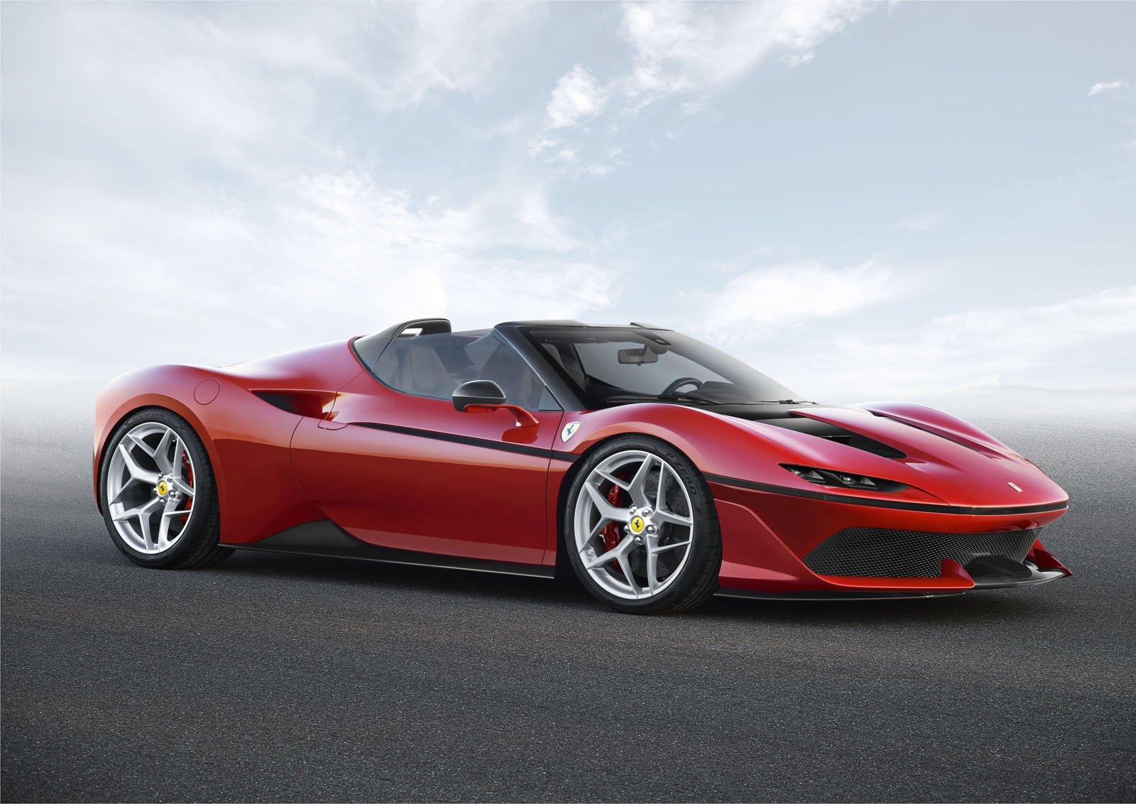 Ferrari Channels its Inner Lamborghini With Ultra Limited J50