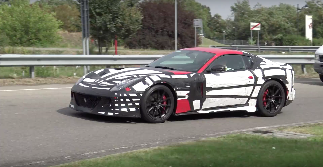 Just Spotted: A Faster Ferrari F12 is Coming and it Sounds Glorious