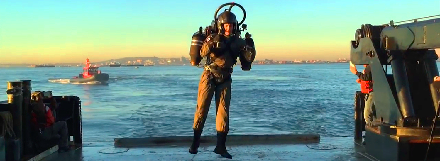 Watch Some Guy Fly The World's First Jetpack Around the Statue of Liberty—For Real