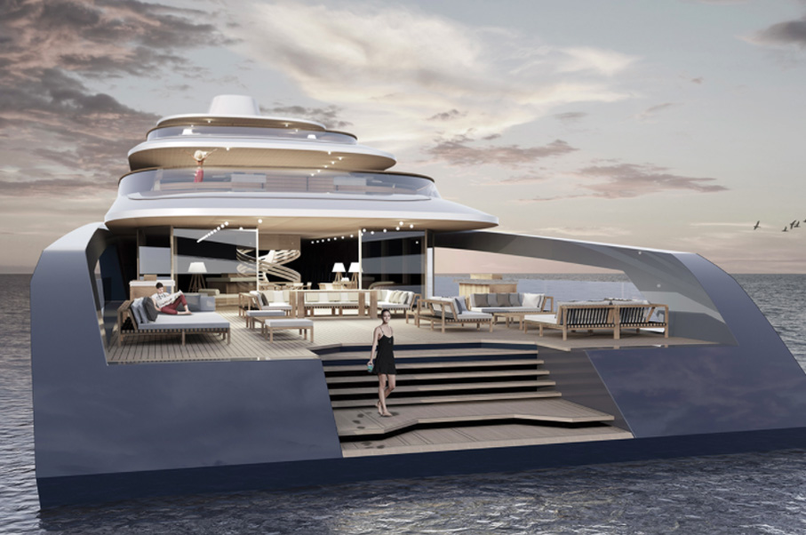 Maybe One Day You'll Settle Down in this Floating Mansion