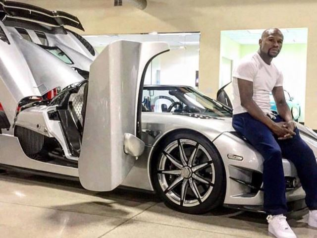 Floyd Mayweather Adds Another 2 Cars To His $16 Million Collection