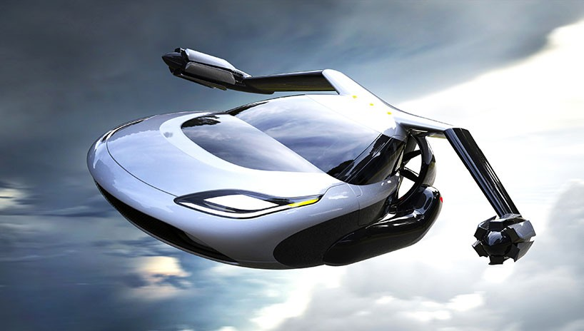 This Flying Car Can Even Fly Itself!