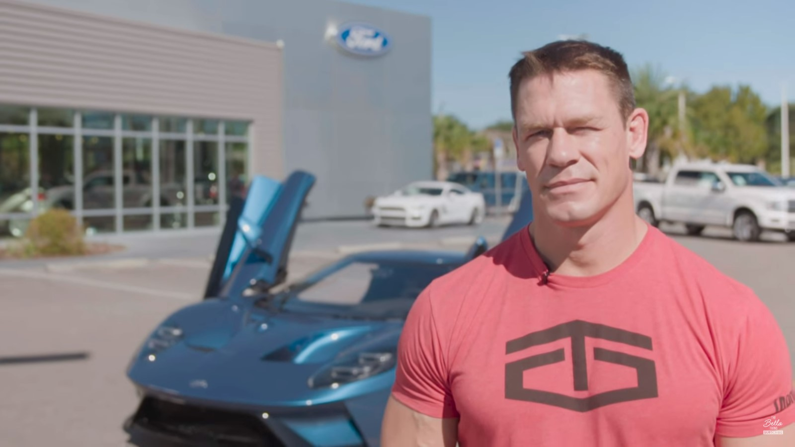 John Cena and Ford Settle GT Lawsuit, Money Going to Charity