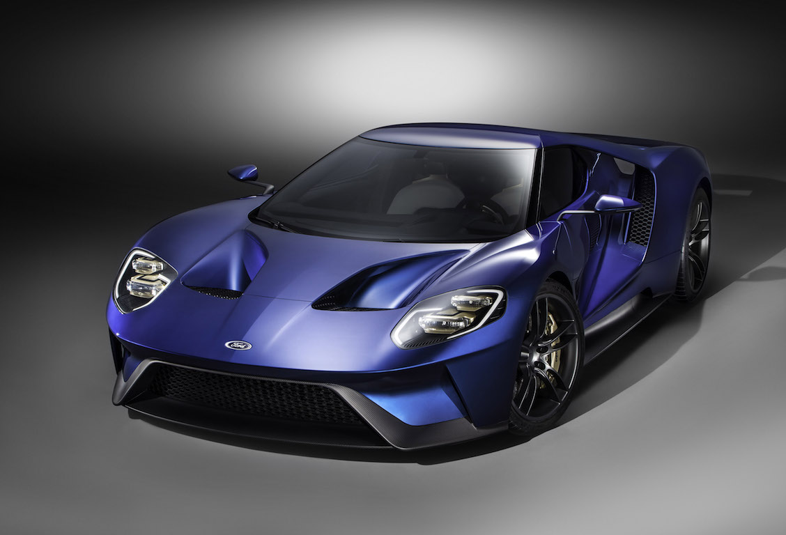 The all-new, carbon-fiber, mid-engined Ford GT supercar, expected to go into production in 2016, will redefine innovation in aerodynamics, EcoBoost and light-weighting.
