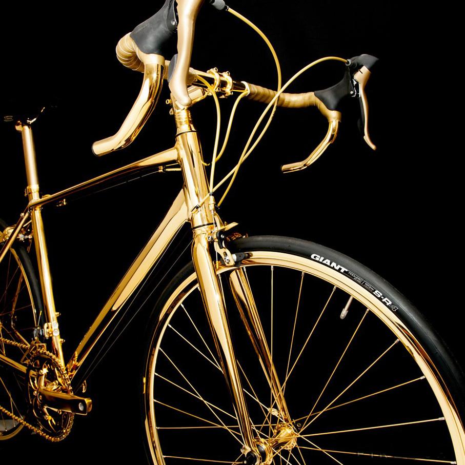 Gold Racing Bike 2