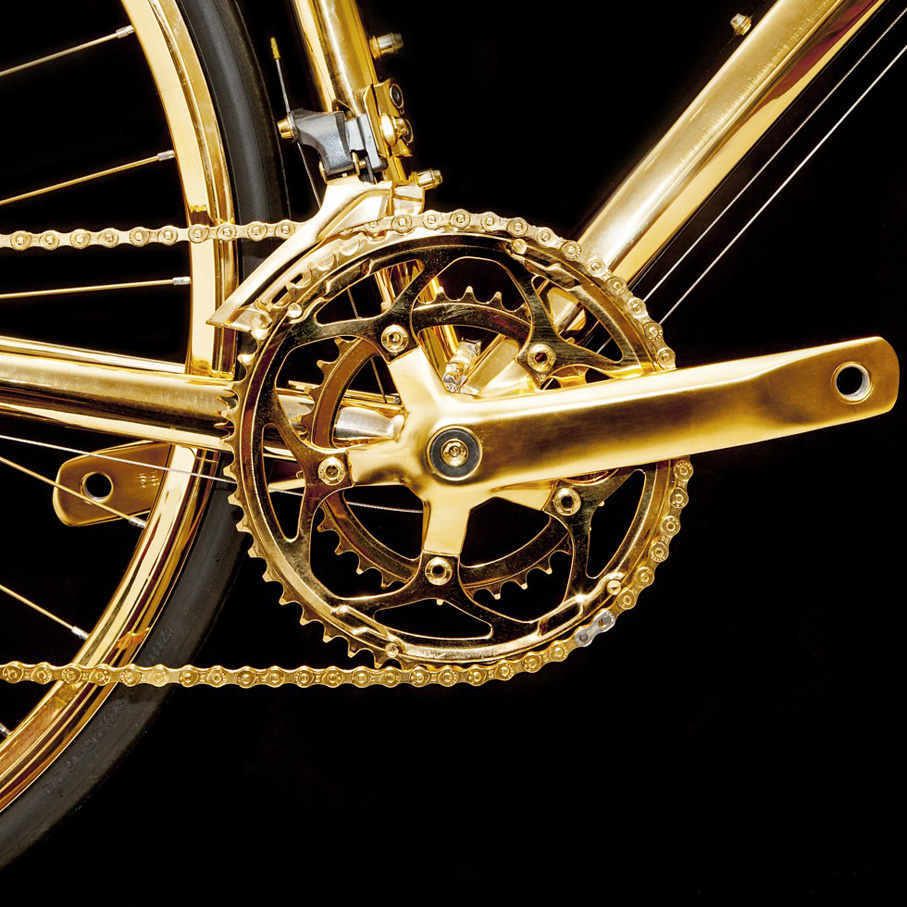 Gold racing Bike 3