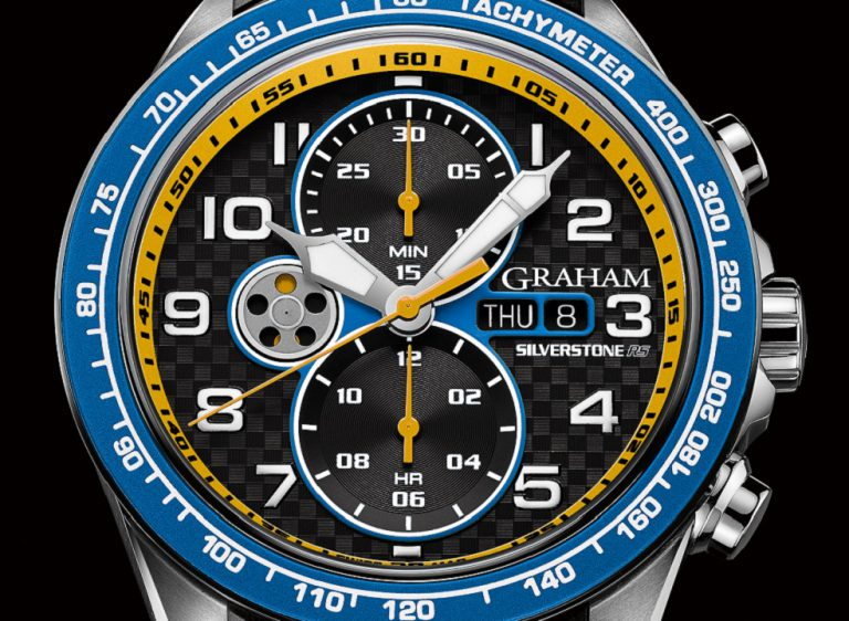 This is a Watch for Racing Geeks